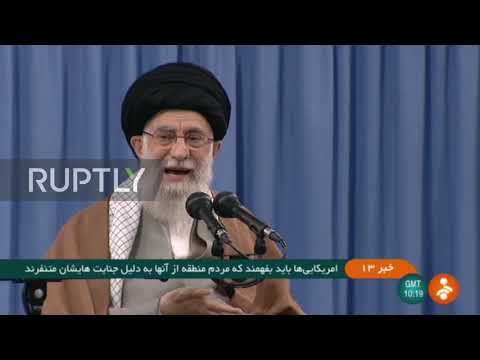 "Iran: Khamenei ""strongly"" condemns US airstrikes on Iraq"