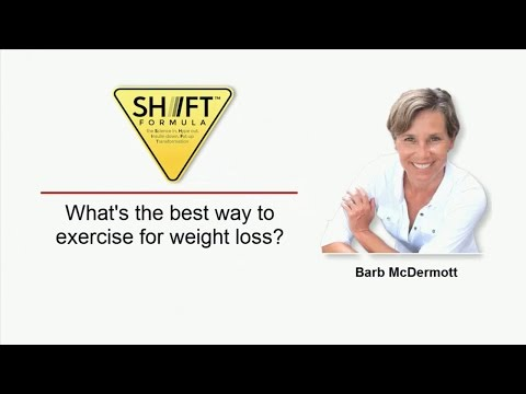 Best way to exercise for weight loss? | Fort Myers Beach, FL | The Shift Formula