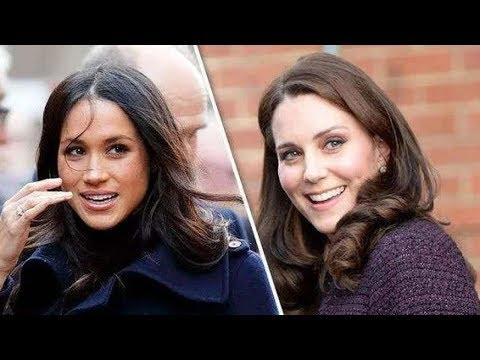 凯特并不想与梅根抢风头,主动退避,但梅根仍向女王提出无理要求 , 哈里王子警告梅根,别在女王面前卖弄,不要显露她的酒会游戏技巧 , 戴安娜侄女分享童年照,酷似夏洛特公主,两人眉眼像,发型也一样