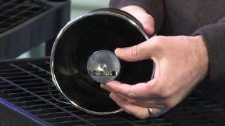 SVP D-60-RBS Compact 100W Chrome Speaker