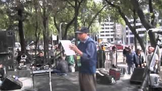 """El escritor Juan Pablo García Vallejo presenta libro """"Disidencia Psicoactiva"""" en Cannafest 20.01.13"""