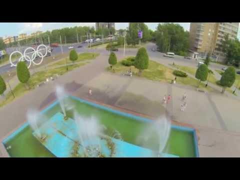 Рязань, Московский район, площадь перед кинотеатром Москва