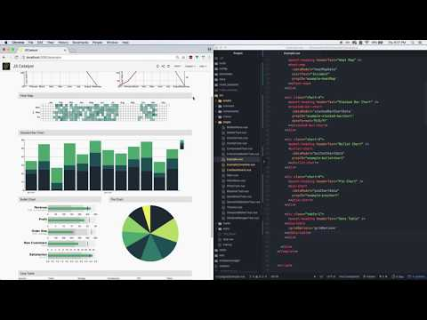 JSCatalyst tutorial: how to build a dashboard