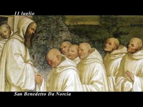 Il santo del giorno san benedetto da norcia youtube - Vi metto a tavola san benedetto ...