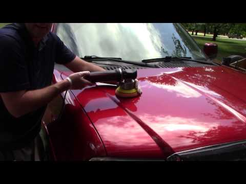 SHOULD YOU WAX CAR BY HAND OR MACHINE!