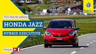 TCS Test de voiture - Honda Jazz Hybrid - Essai 2021