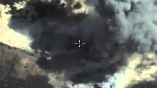 Россия бомбит ИГИЛ в Сирии 2015 / Russian bombing in Syria