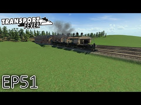 Transport Fever Gameplay | Preparation For The Super Oil Line! | The Great Lakes | S2 - Episode 51