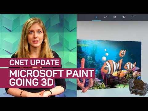 Microsoft Paint just got a new coat of cool with 3D tools (CNET Update)