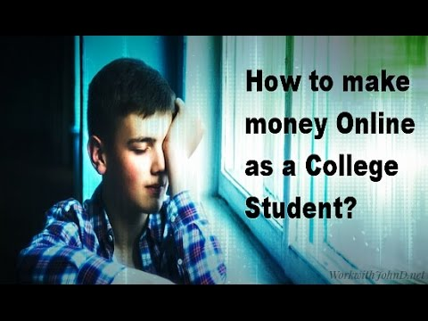 How to Make Money Online as a College Student - Social Media Income