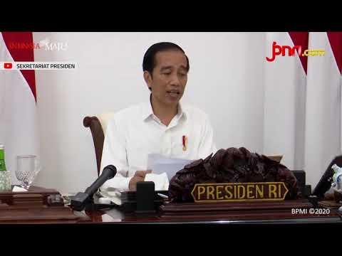 Jokowi Ingin Program Pemulihan Ekonomi Segera Dilaksanakan