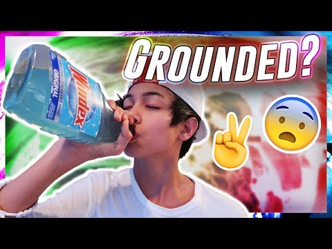 Drinking Windex Prank On Mom **GONE WRONG**