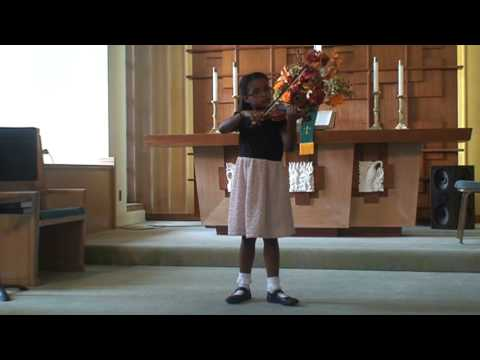 Sydney Jenkins performs the Twinkle Variations by S. Suzuki