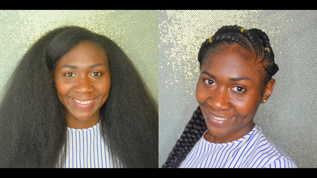 Natural Hair   Prepping For Protective Styles (Braids ...
