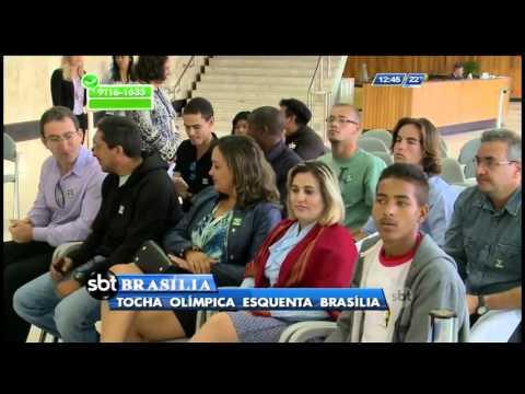 Tocha Olímpica desembarcará em Brasília
