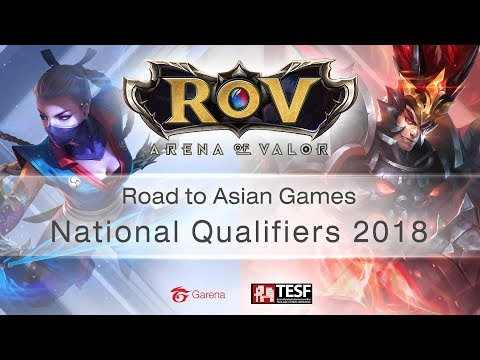 RoV Road To Asian Games National Qualifiers 2018