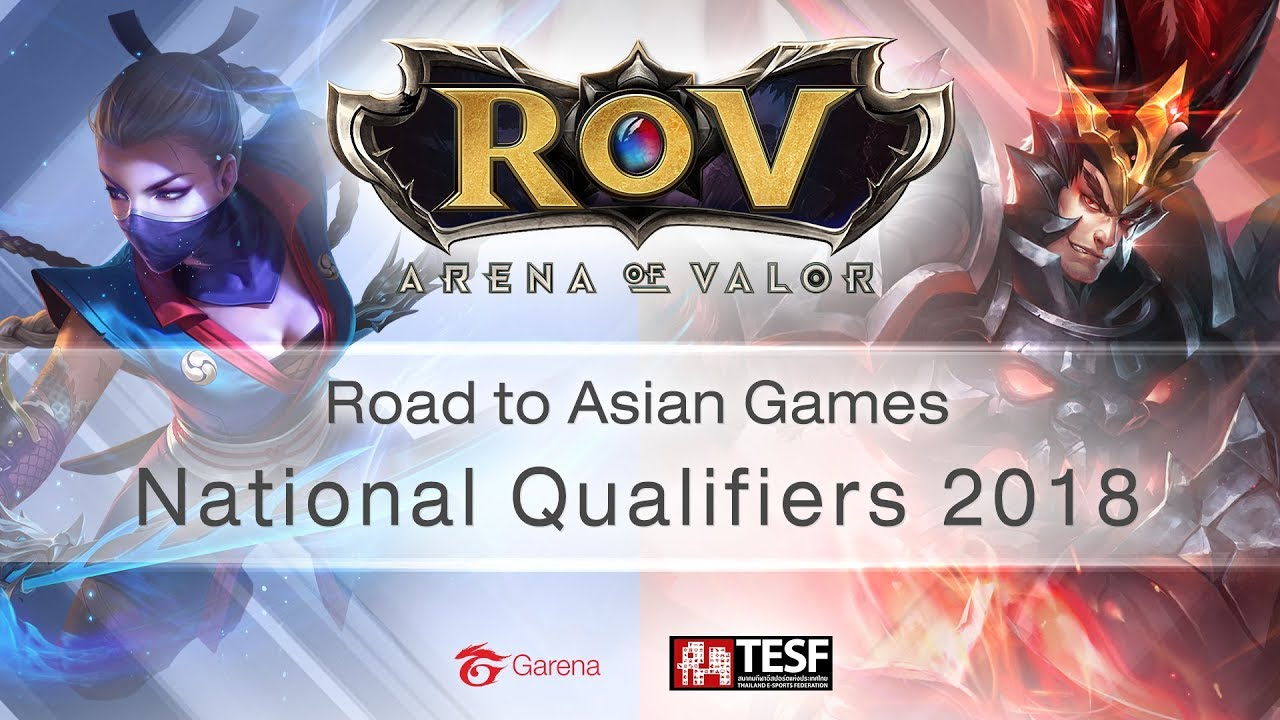 Rov Road To Asian Games National Qualifiers