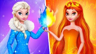 Elsa and Anna Hacks and Crafts / 10 Frozen DIYs