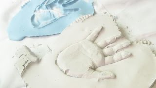 How to make a Plaster Hand Print | Fatema's Art Show