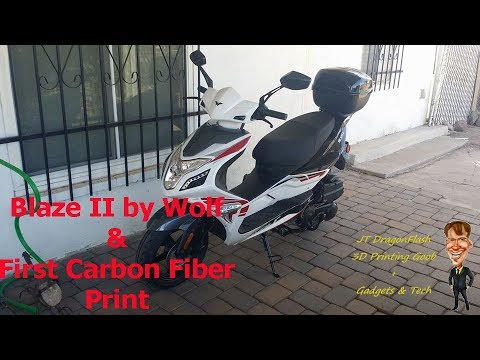 First Thoughts on 2017 Wolf Blaze II 150cc Chinese Scooter