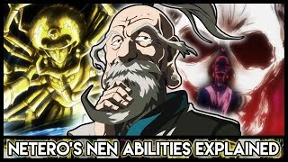 Explaining Isaac Netero's Nen Abilities (100-Type Guanyin Bodhisattva) | Hunter X Hunter Explained