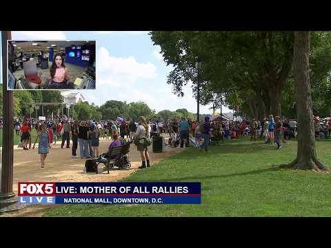 FOX 5 LIVE (9/16): Mother of All Rallies & Juggalos rally separately on National Mall