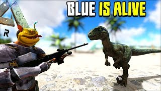 WE FOUND BLUE !! NOT EVERYTHING GOES TO PLAN...   JURASSIC ARK   ARK SURVIVAL EVOLVED [EP46]