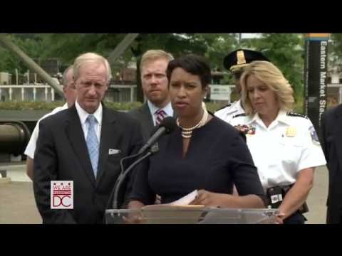 Mayor Bowser Announces Plan to Help District Residents During SafeTrack, 6/3/16