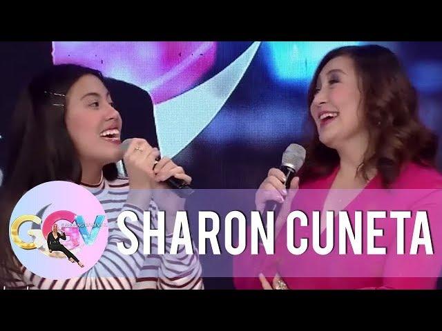Miel and Sharon sing Mr. DJ together | GGV