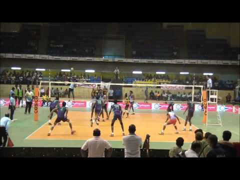 64th Indian National Volleyball Champianship Semifinal 2: Tamilnadu Vs Railways
