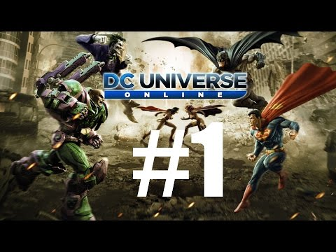 DC Universe Online | #1 | CZ Let's Play / Gameplay [PC]