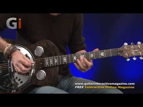 Dean Spider Quilt Maple Resonator Guitar Review | Guitar Interactive Magazine