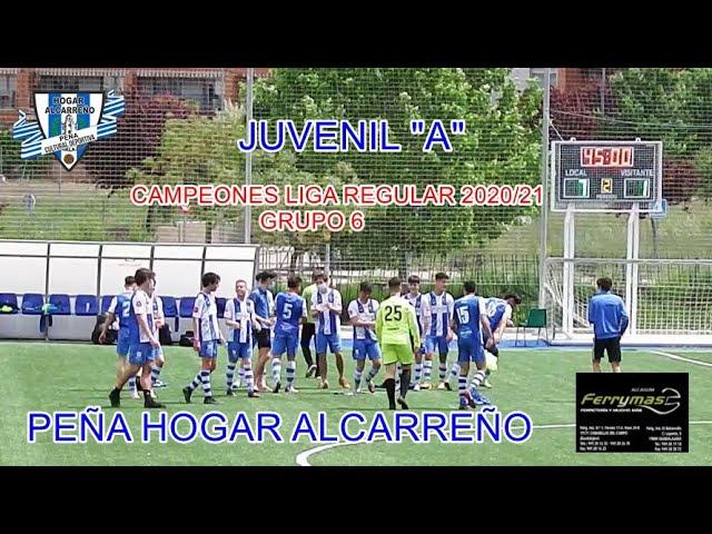HOGAR ALCARREÑO JUVENIL  7-1 RAYO ARRIACENSE  16 MAYO 2021   PEÑA HOGAR ALCARREÑO.  ALCASUM FERRYMAS