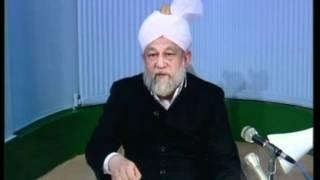 Arabic Darsul Quran 23rd February 1994 - Surah Aale-Imraan verses 158-160 - Islam Ahmadiyya
