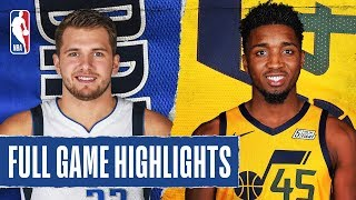MAVERICKS at JAZZ | FULL GAME HIGHLIGHTS | January 25, 2020