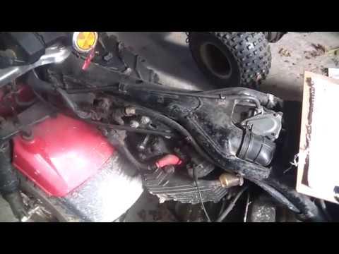 Troubleshooting no spark Honda ATC250ES, 250SX round plug CDI - YouTube