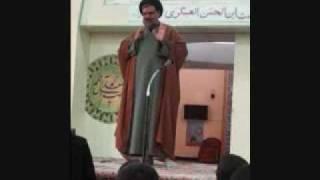 Moulana Syed Muhammad Rizvi during Grandparents Day at As-Sadiq School - June 2009