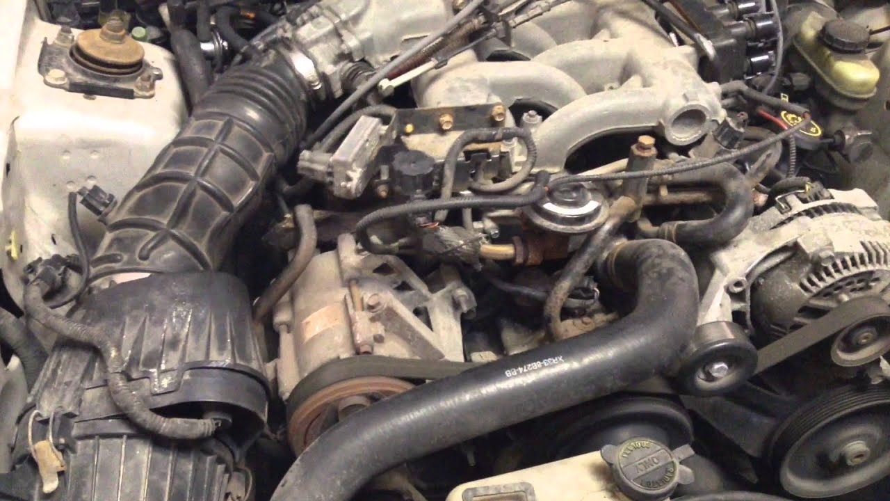 2000 Ford Mustang 3 8 Engine
