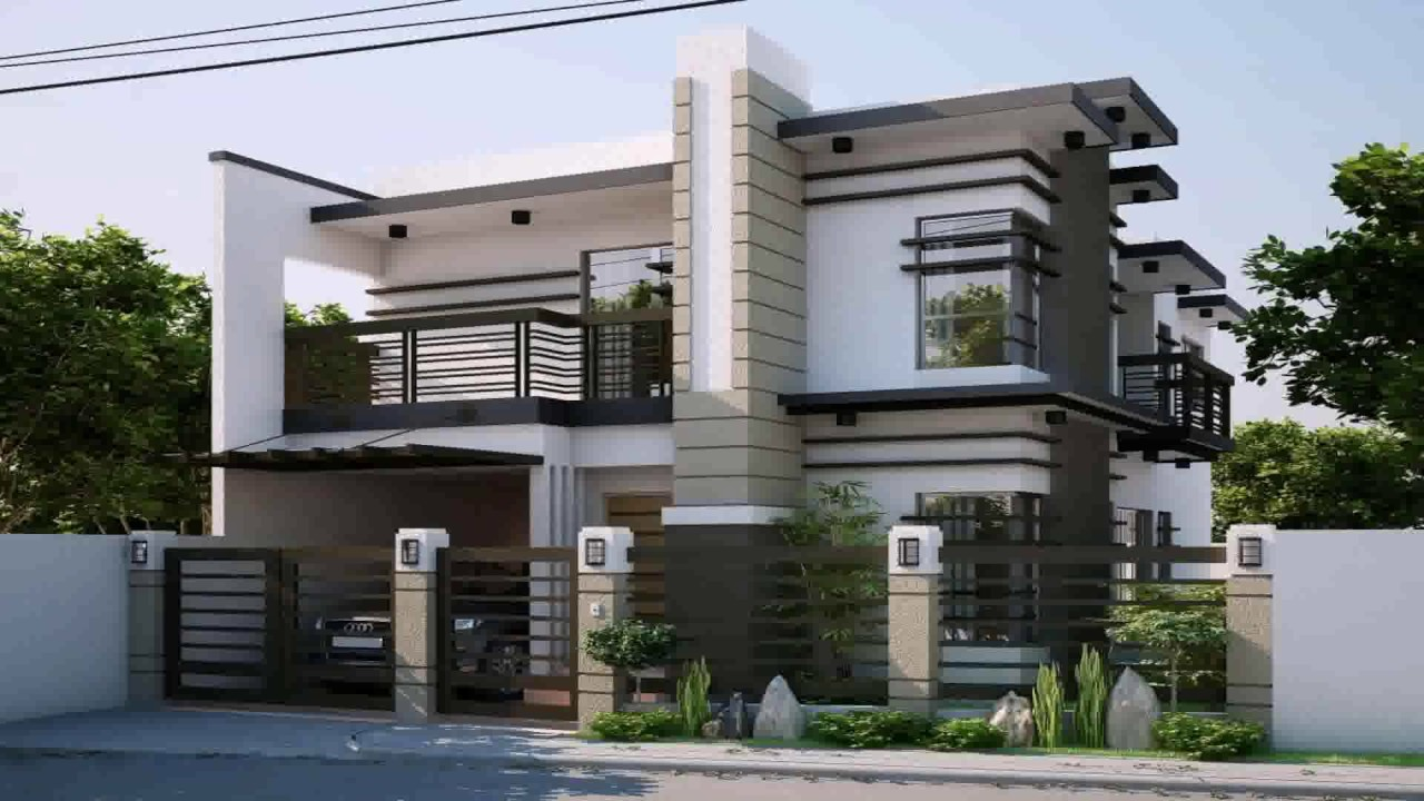 Modern House Fence Design Philippines