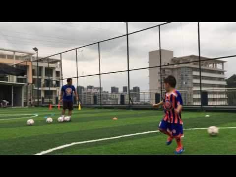 3 to 5 years old - Coach Thiago Melo - Soccer Practice - Five-Stars Sports - Shenzhen, China