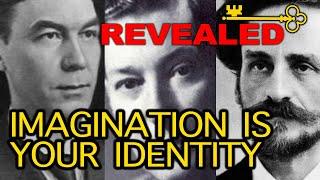 Your Imagination is your Identity (Neville Goddard, James Allen, Charles F. Haanel)