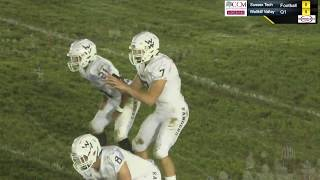HD Football Broadcast (9/29/2018):  Wallkill Valley over Sussex Tech 27-10