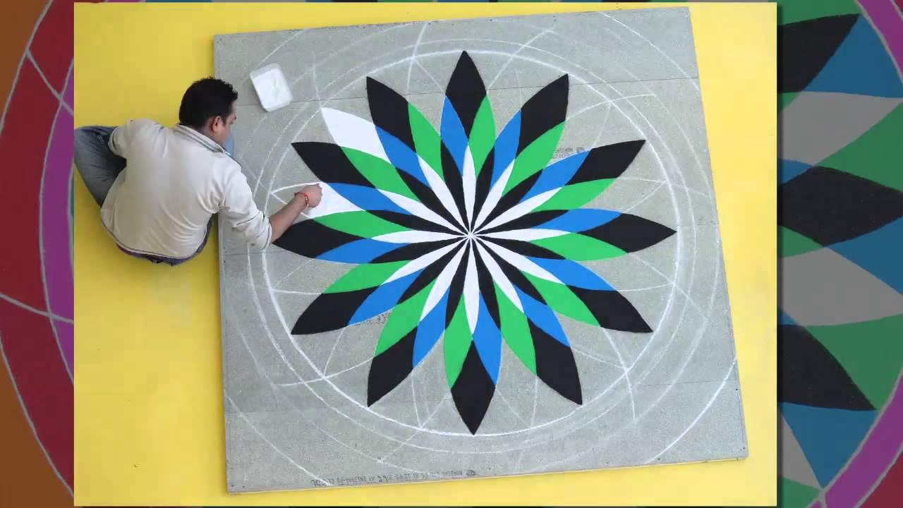 Rangoli Designs For Competition With Concepts Rangoli design.