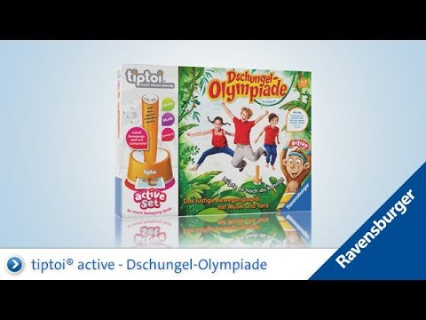 Tiptoi Dschungel Olympiade