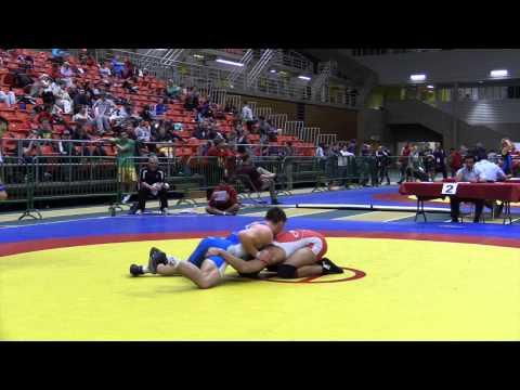 2014 Junior National Championships: 84 kg Joban Phulka vs. Jacob Luczak