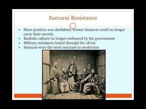 AP World History: Period 5: Meiji Restoration