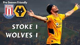 Raul scores 1st goal since return in Wolves 1-1 Stoke Pre Season Friendly