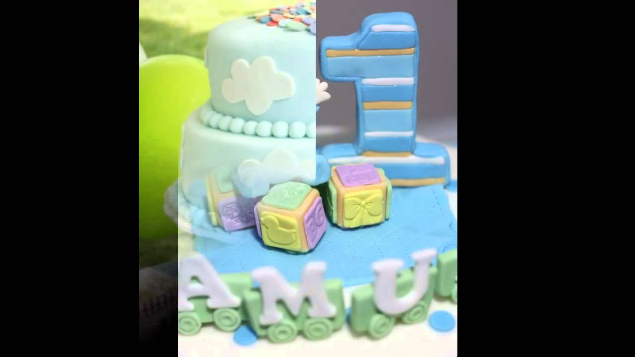 1st birthday Party cake ideas for boys YouTube