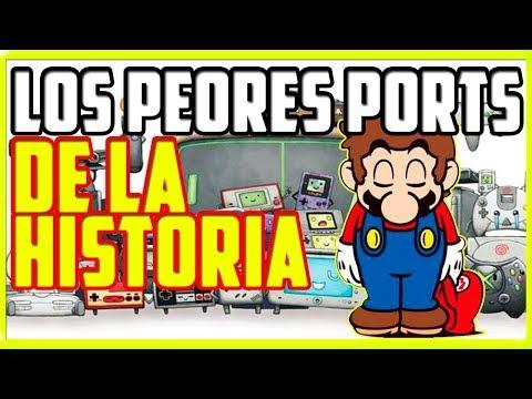 Top 10 Peores Ports de la Historia de los Videojuegos  by CasaRetro