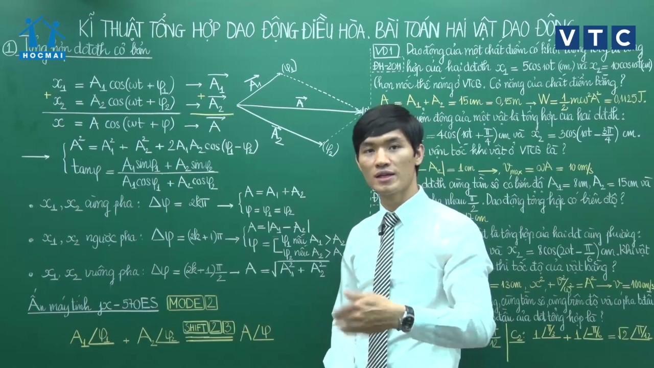 Lớp 12 | Vật lí | Bài số 06 | Lớp học không khoảng cách | HOCMAI-VTC